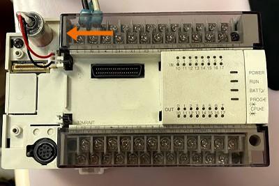 FX2N-32MR_battery