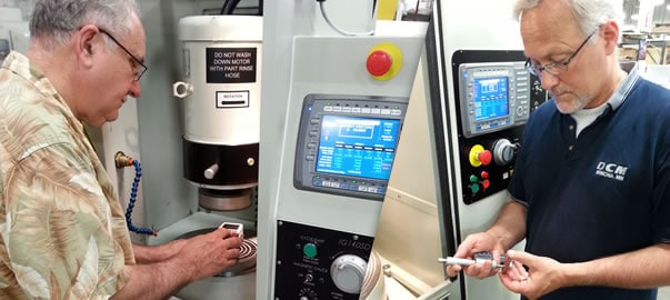 Visit DCM Surface Grinding Lab for machine qualification and process development